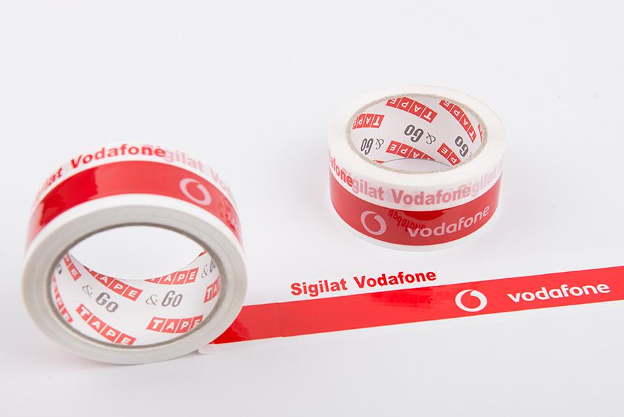 Vodafone nyomtatott szalagok - tapeandgo