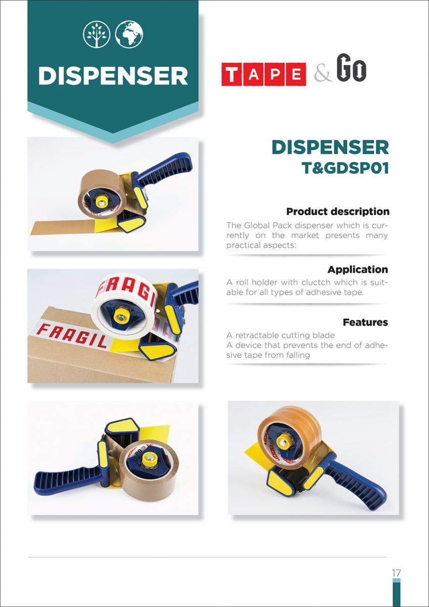 TGDSP001 dispenzer