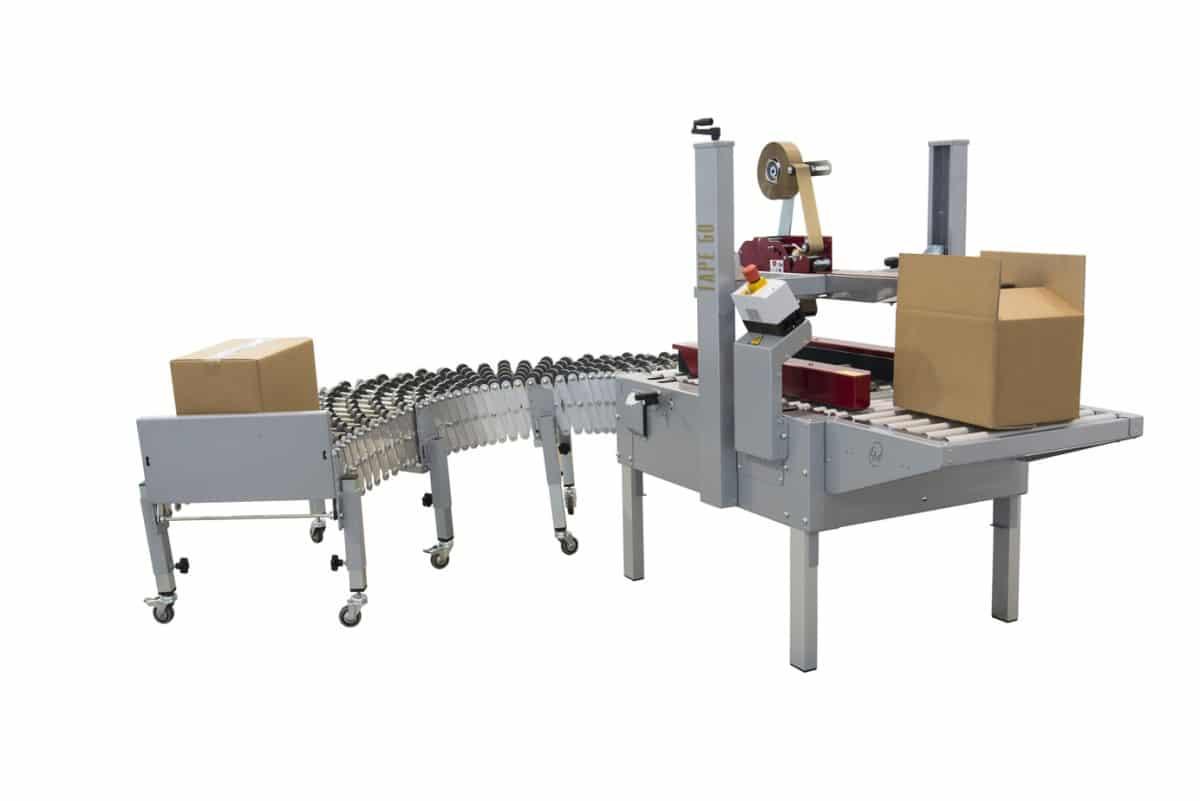 mašina sa kutijama